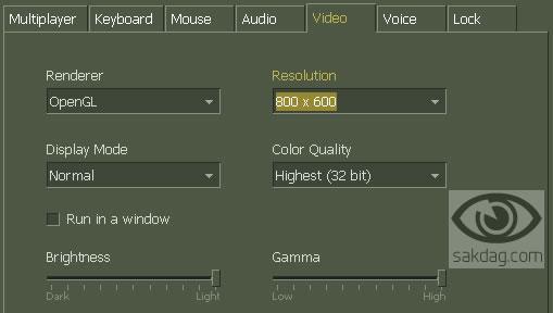 ekran ayarı CS Ekran Büyütme / Küçültme Ayarı